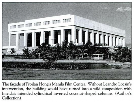 Cultural Center Of The Philippines Filipino Architecture Manila