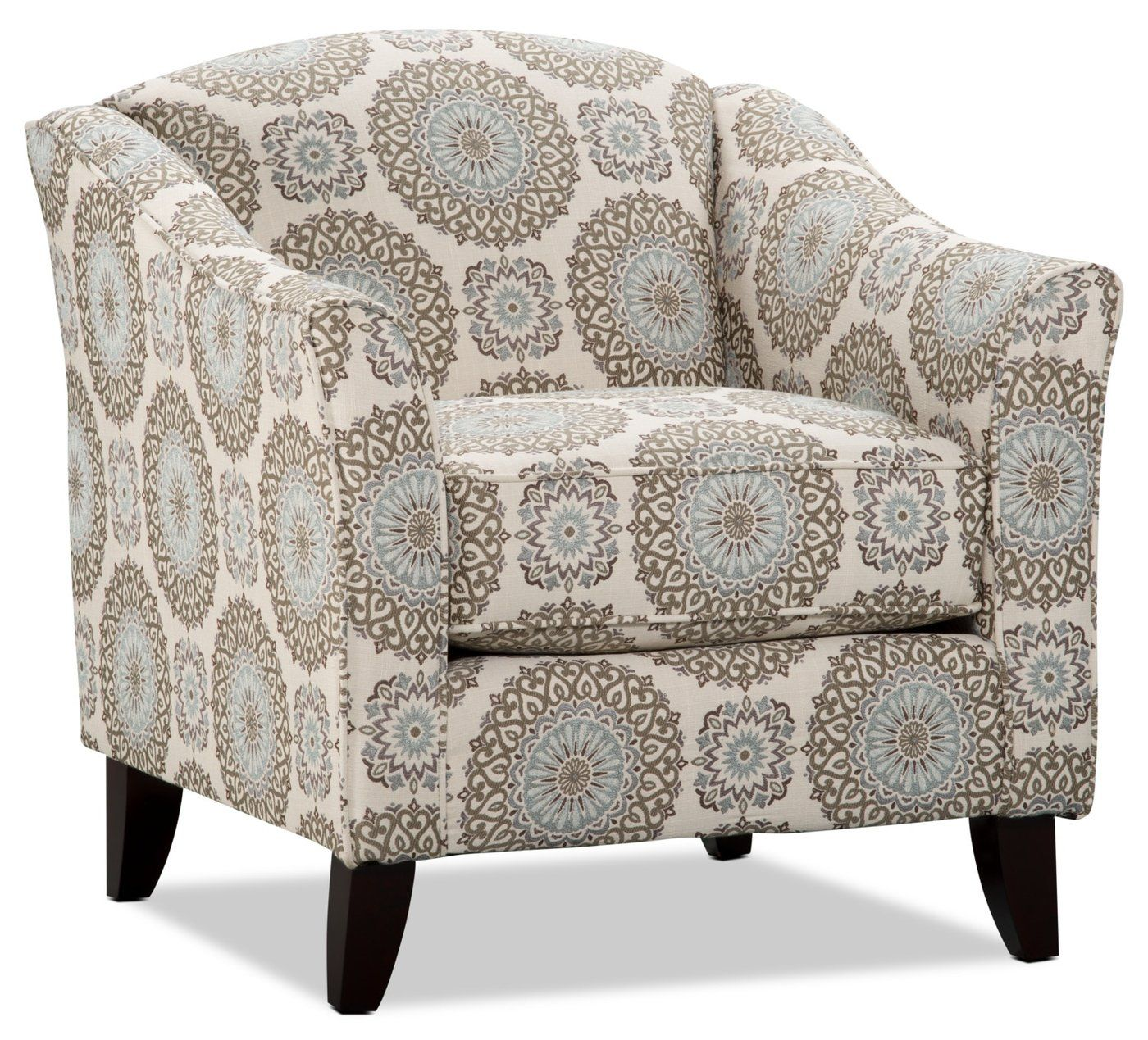 Tula Fabric Accent Chair Brianne Twilight Fabric Accent Chair