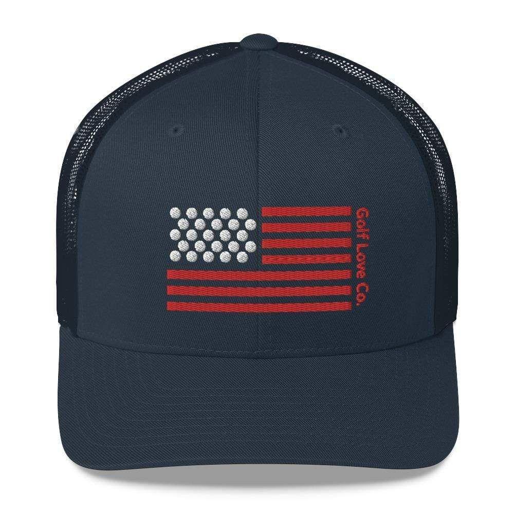 American Flag Trucker Hat In 2020 American Flag Trucker Trucker Cap Trucker Hat