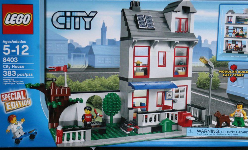 NIB LEGO CITY 8403 Lego House Lego, Lego city, Lego house