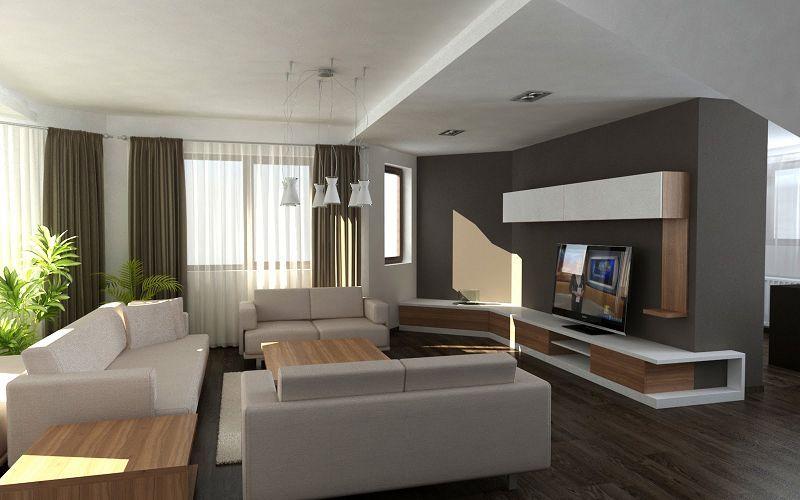 casas modernas interiores buscar con google ideas On estilo moderno interiores
