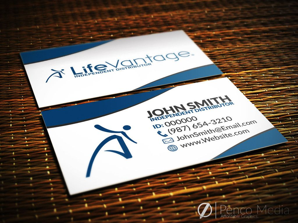 Custom LifeVantage Business Card Design #1 #lifevantage ...