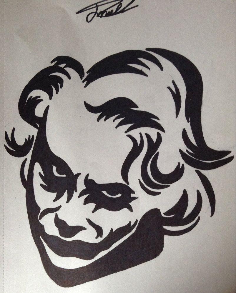 The Joker Tattoo Design By Cy6erwolf On Deviantart Joker Tattoo Design Tattoo Sketch Art Joker Tattoo Joker tattoo pics hd