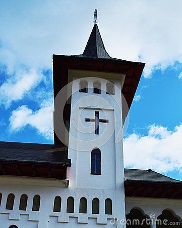 Prislop monastery, the tower, Maramures region, historical monument.
