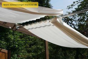 Sonnenschutz Im Garten holzpergola schräg kombinierter sonnenschutz regenschutz
