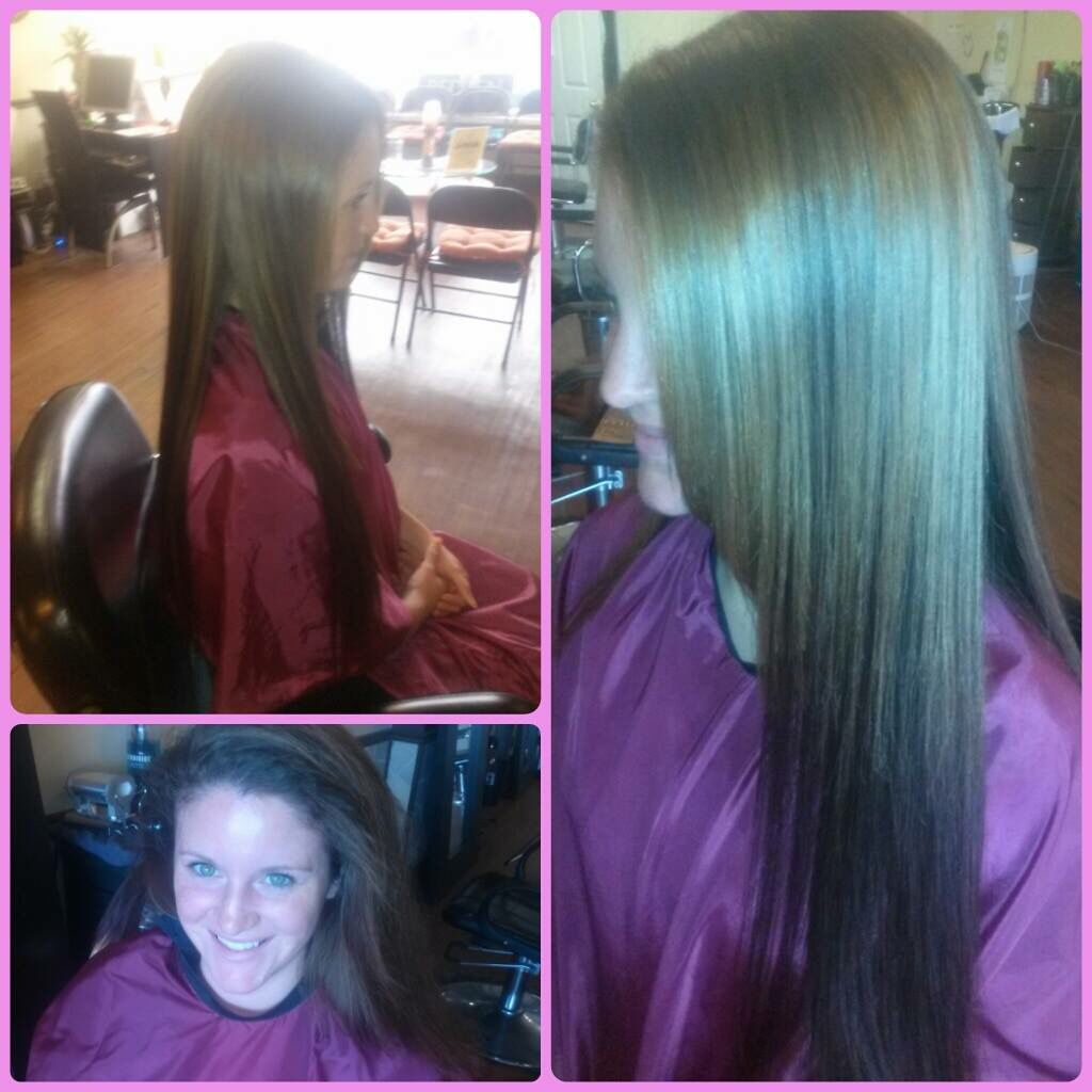 Full hair installation with natural leave out. Styled by sharia at Venus salon/insane mane salon. Hair, extensions, long hair, silky, shiny