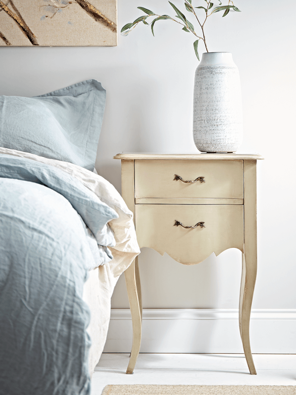 Best Normandie Bedside Table Modern Bedside Table Table 400 x 300