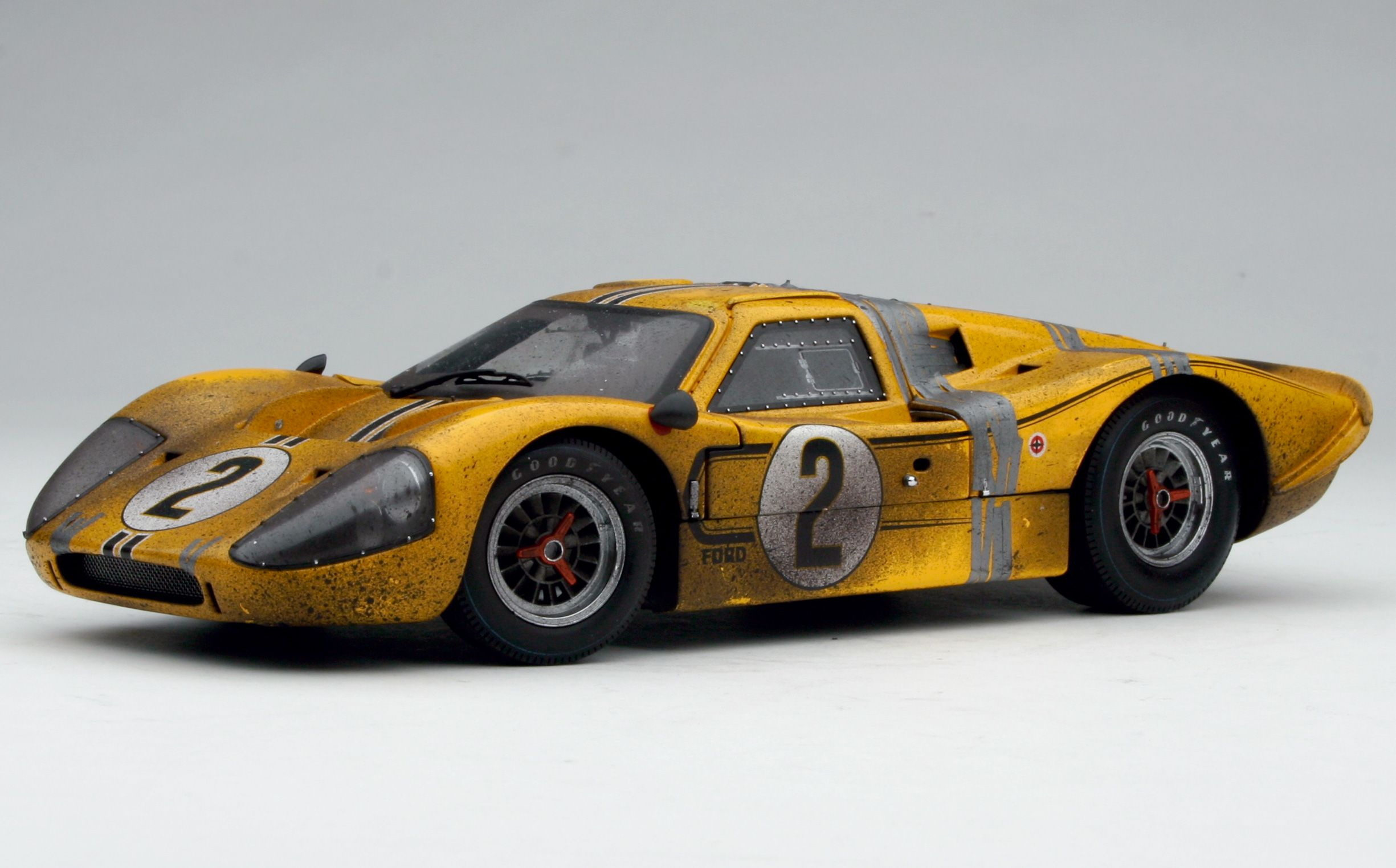 1967 Exoto Ford Gt40 Mk Iv Fourth Le Mans 24 Hours Finish Line
