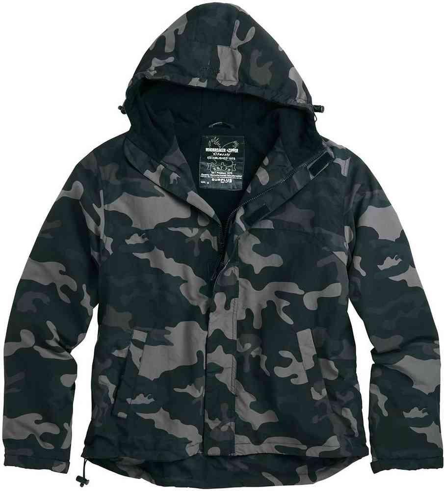 Photo of Surplus Zipper Windbreaker Jacket