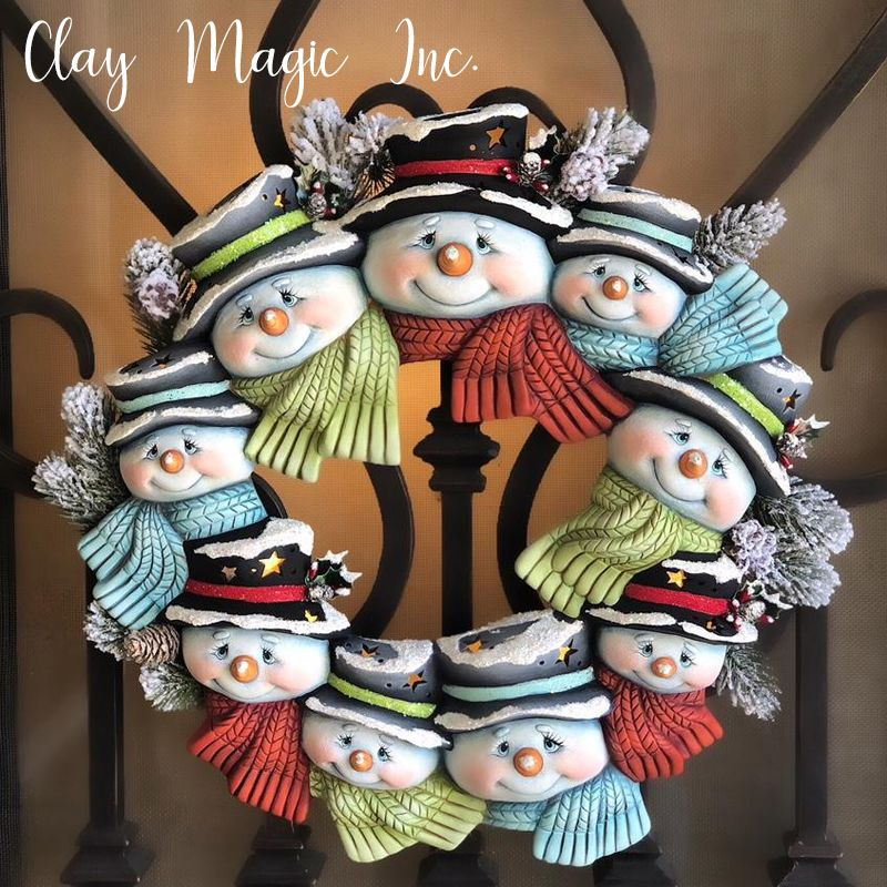 Clay Magic Gallery Christmas Clay Polymer Clay Christmas Xmas Crafts