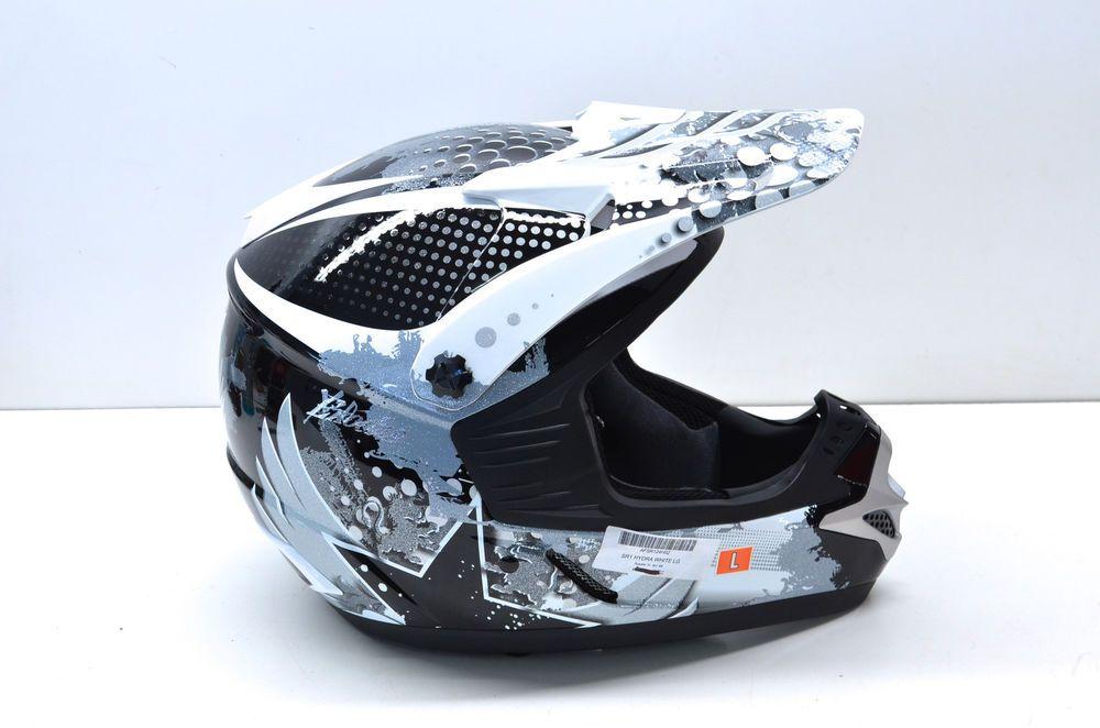 New Fulmer Sr1 White Hydra Helmet Large Nos Ebay Motors Parts Amp Accessories Apparel Amp Merchandise Ebay Helmet Motocross Helmets Motocross Gloves