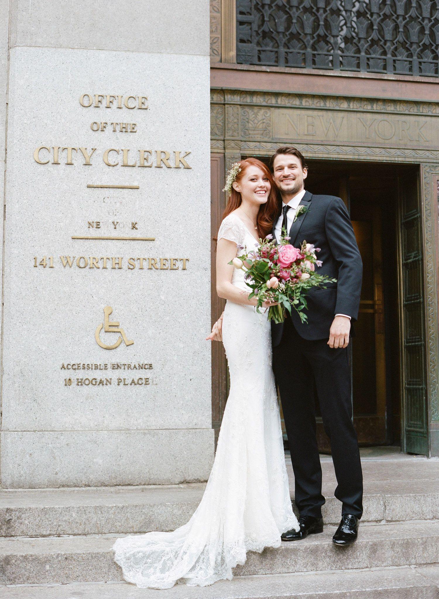 City Hall Wedding New York Manhattan 17