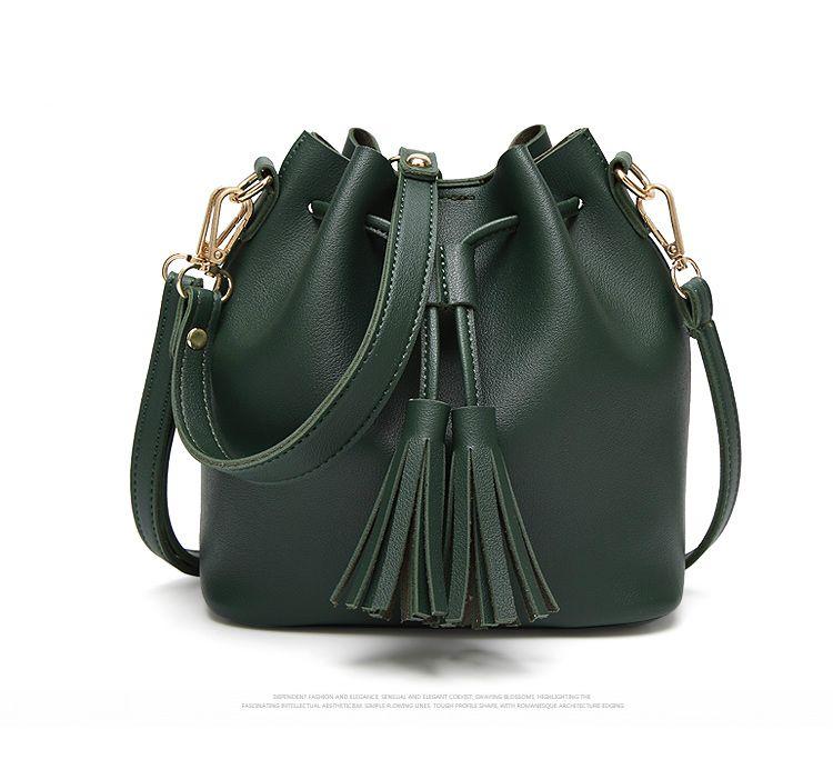 ff7c340f7f  27.37 - Nice Tinkin Summer Tassel Women Shoulder Bag Casual Messenger Bag  All-match Women Bag Color brown