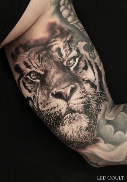 Belagoria Espectaculares Tatuajes De Tigres Y Su Significado