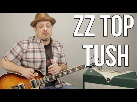 How To Play Zz Top Tush On Guitar Blues Rock Guitar