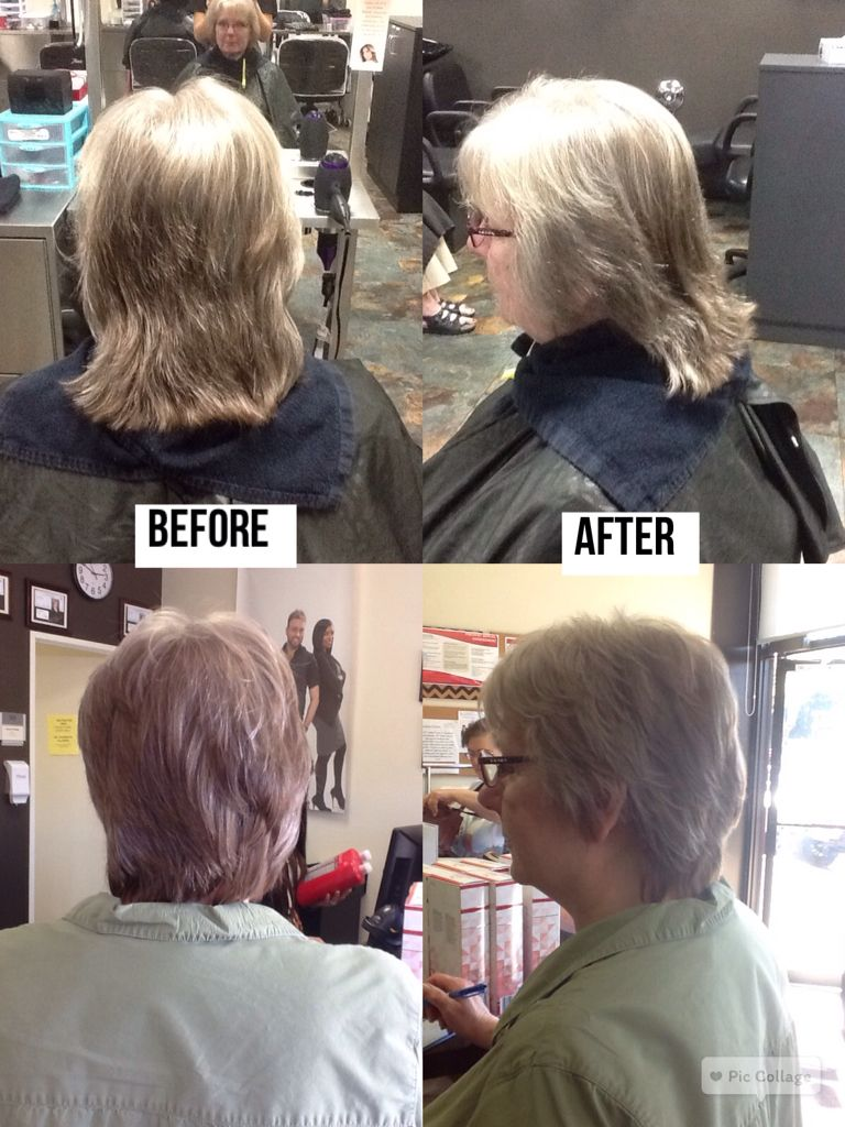 Haircut Trim Including Lots Of Layers And Feathering Using A 90