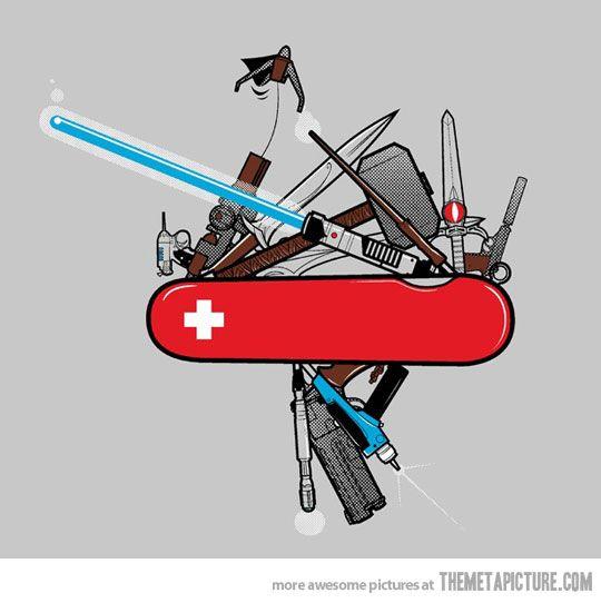 The Ultimate Swiss Army Knife Swiss Army Knife Geek