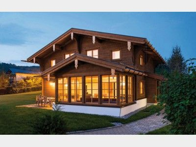 traditionell einfamilienhaus von rubner haus ag. Black Bedroom Furniture Sets. Home Design Ideas