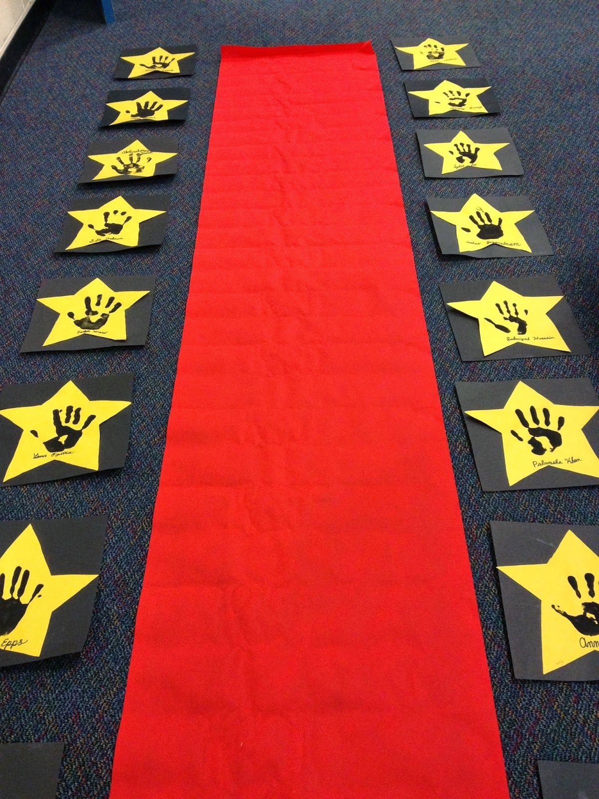 Third in hollywood classroom management bulletin board - Kindergarten graduation decorations ...