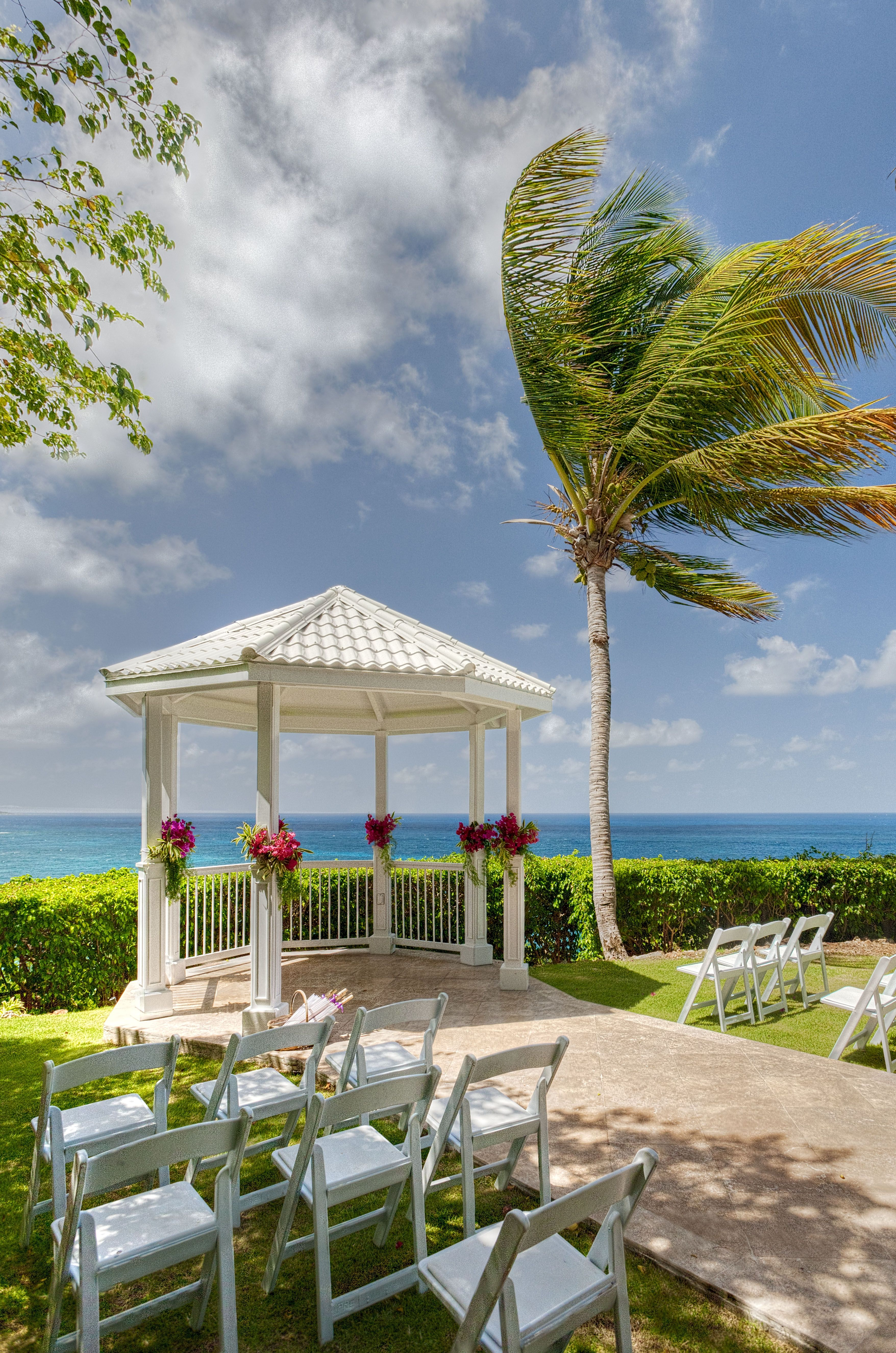 St Thomas Wedding Gazebo At The Marriott Frenchman S Reef Book With Beach Weddings