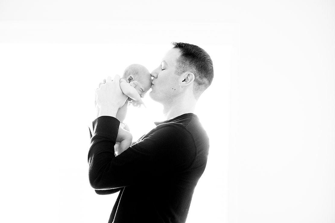 Sweet Intimate Moments of Daddy and Son | J&D Photo | Newborn ...