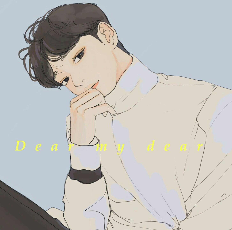 Chen 'Dear My Dear' di 2020 Cara menggambar, Gambar
