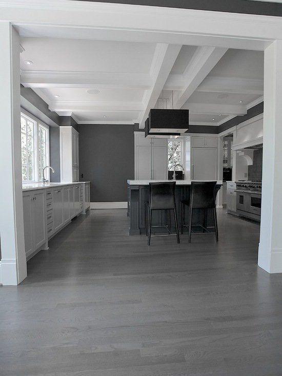 15 atemberaubende graue Küche Boden Design-Ideen | Küchen Ideen ...