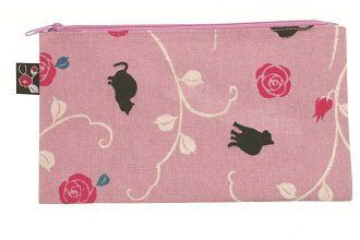 Black Cat Pink Japanese Kimono Print Cotton Pen Case by Kurochiku. $10.99. New with Tag. H4.72 x W7.87 inches. 100% Cotton, durable, inner lining. Pen Case, Cosmetic Case. Inport from Japan. Introducing our Japanese Kimono Print Pen Cases! Also great to store stationary supplies. With over 10 different design, look for your favorite!. Save 15%!