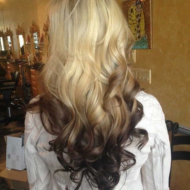 Reverse Ombre 3 Visit To Purchase Dip Dye Extensions Httpwww