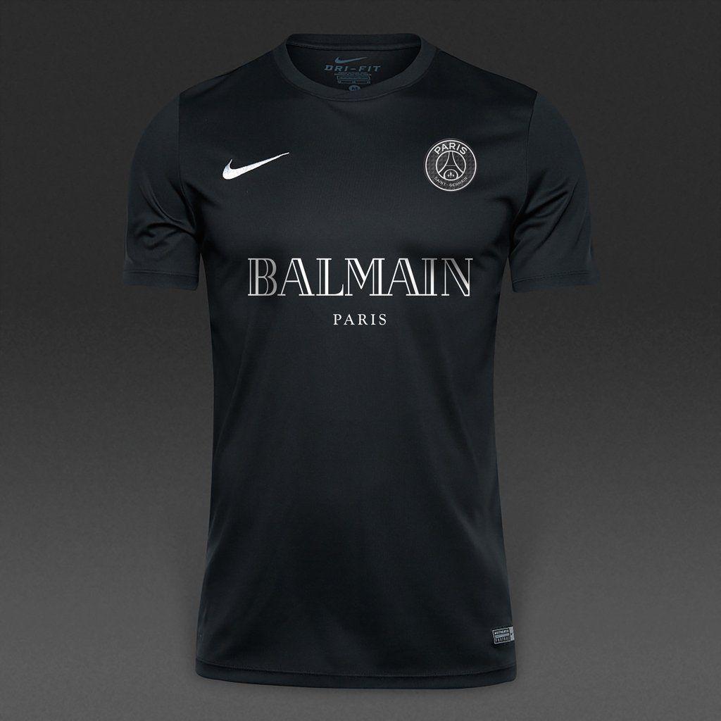 Psg black and pink jersey - Balmain X Psg Short Sleeve Jersey 65 The Balmain X Psg Short Sleeve Kit Is