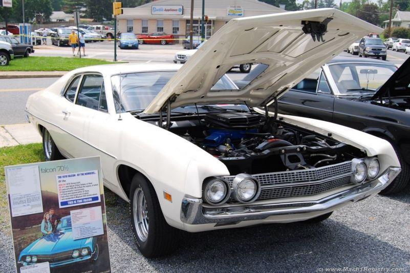 Ford Falcon With  Scj Mach  Registry Owners Club
