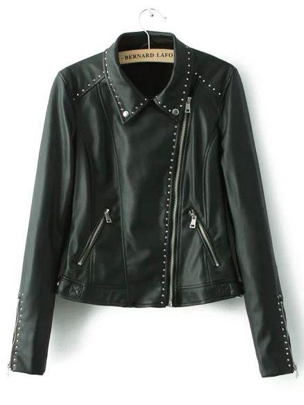 Jacket+solapa+cremallera+crop+-negro+47.11