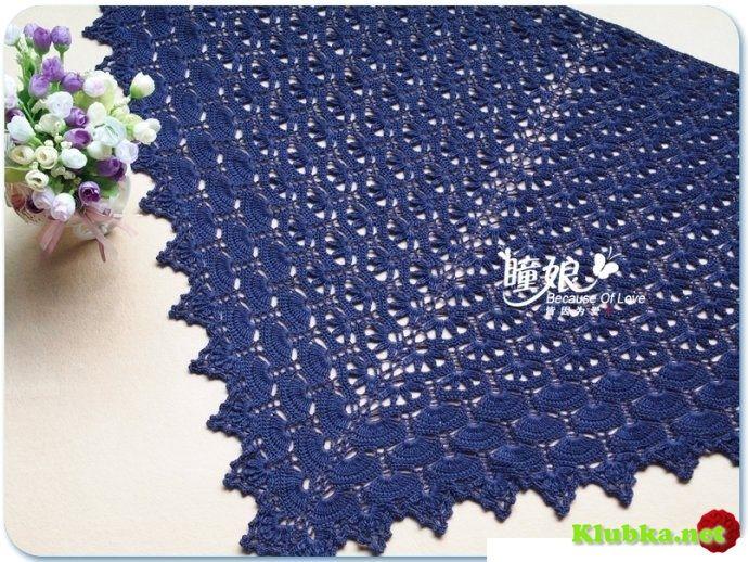 Unusual crochet shawl   I\'m a Hooker   Pinterest   Chal y Ganchillo