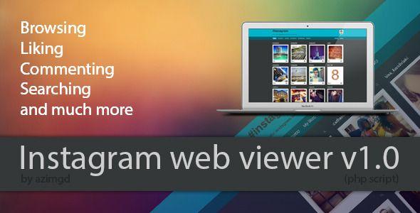 Instagram Web Viewer | Code-Scripts-and-Plugins | Instagram