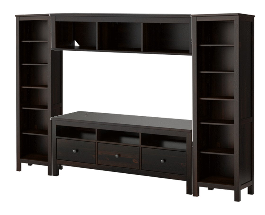 Ikea Hemnes Entertainment Unit | Ikea hemnes, Hemnes, Ikea