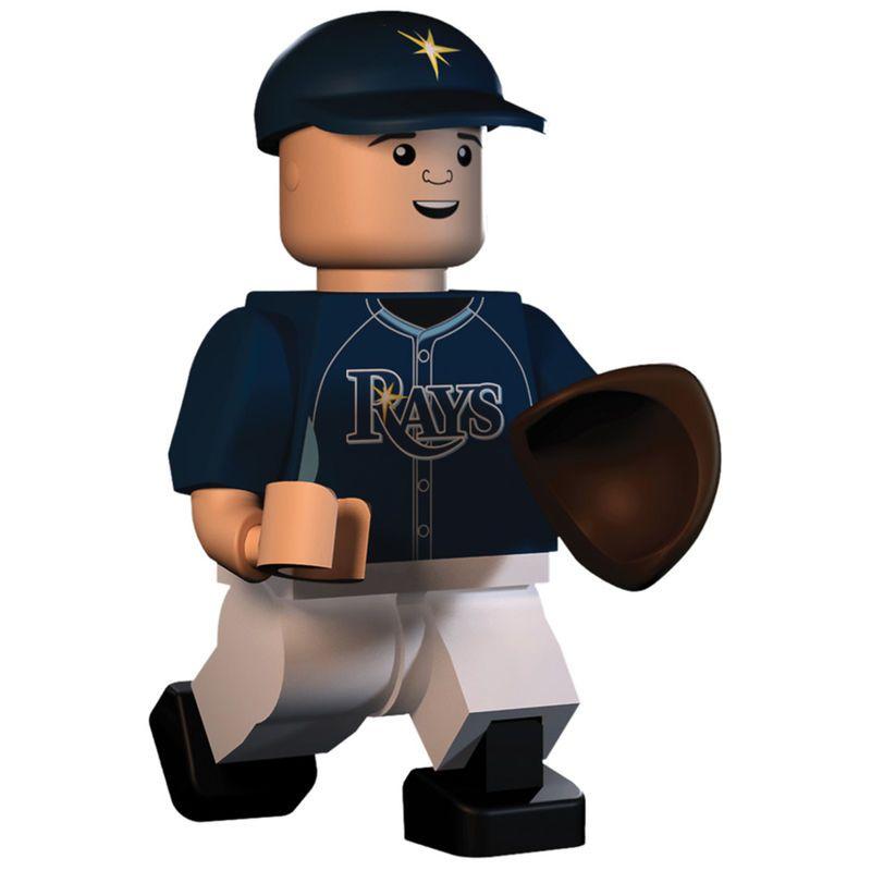 Evan Longoria Tampa Bay Rays OYO Sports Player Minifigure   Mlb ...