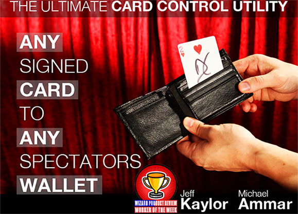 Any Signed Card To Any Spectator/'s Wallet Magic Trick,Card Magic