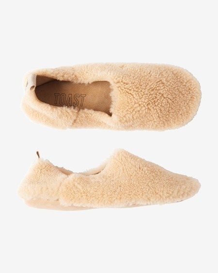 01e141d89d5bf Toast shearling slippers | Shoes in 2019 | Sheepskin slippers ...