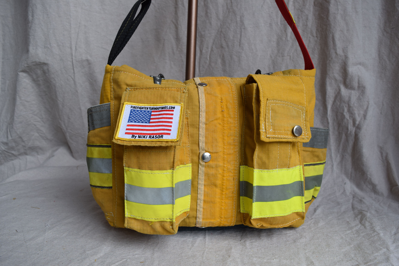 Lotsa Pockets Firefighter Turnout Bag By Niki Rasor