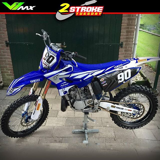 Yamaha Yz250 2016 Build By Tim Jonkers Hotornotmx Twostroketuesday 2stroke Mxlife Motocross Dirtbikes Dirtbike Mx4life 2stroketuesday