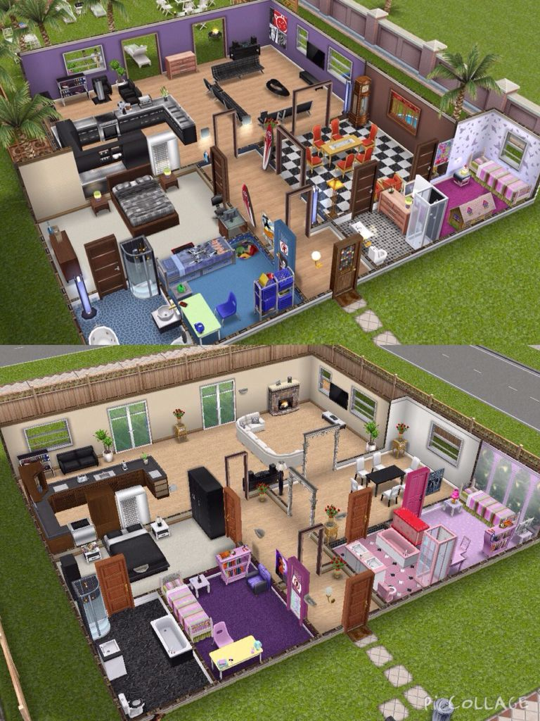 House design sims - I Recreated The House On The Top