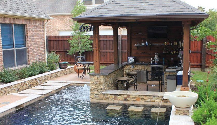 Outdoor Kitchen Spring Ideas Backyard Designs Small
