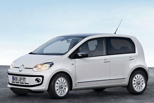 Volkswagen Reveals Production Five Door Up Volkswagen Up Vw Up Volkswagen