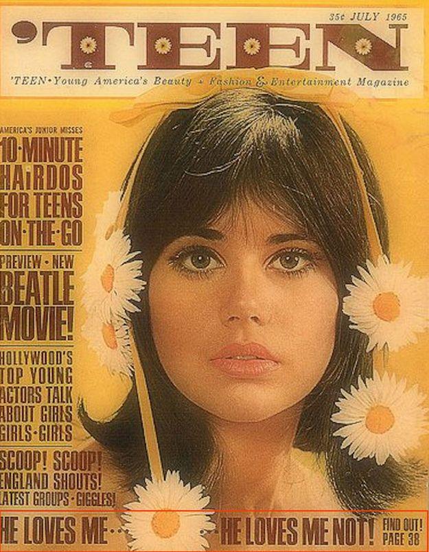 Teen magazines history