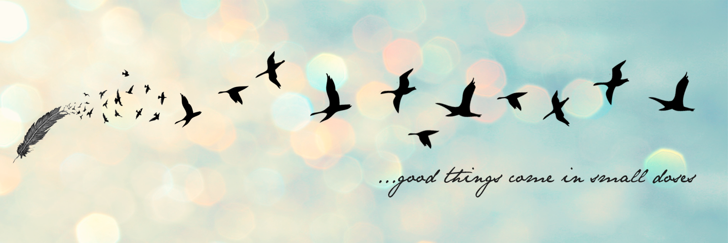 Good Things Come In Small Doses Facebook Cover Images