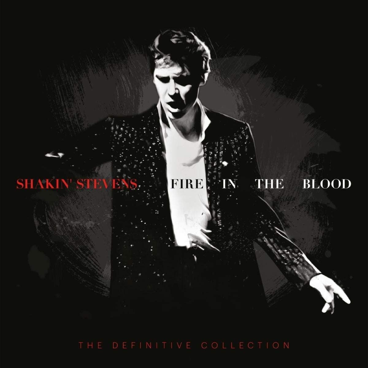 This is a stunning collectors box set and one of the best presentations I've seen in a long time. The truly definitive collection of this living legend's body of work as a solo artist.'Fire In The Blood' is the biggest and most complete collection of Shaky's recordings ever undertaken - a celebration of the achievements of an enduring artist whose chart statistics, however phenomenal, tell only part of his story. From his solo debut album on Track Records, 'Shakin' Stevens', to the recent succes