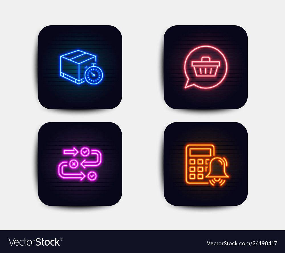 Web vector image on VectorStock Neon glow, Business