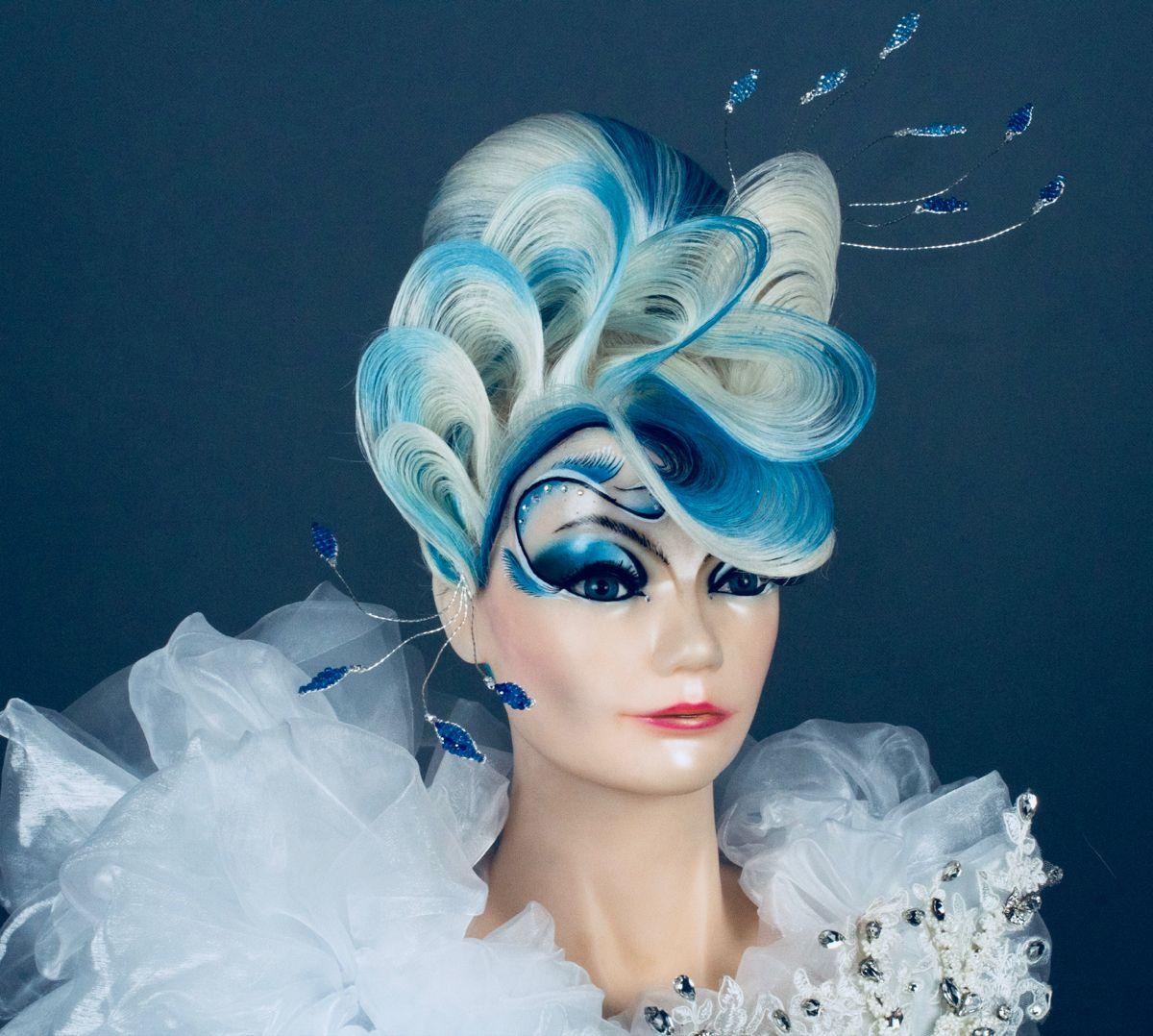 Omc日宴盤髮造型 in 2020 Fairy hair, Competition hair, Hair styles