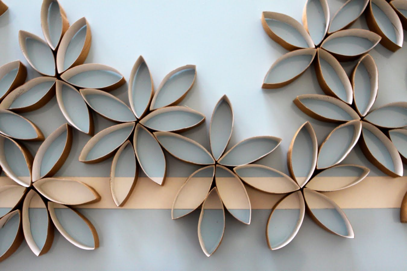 Flower Wall Art Diy Pinterest Toilet Paper Rolls Toilet Paper