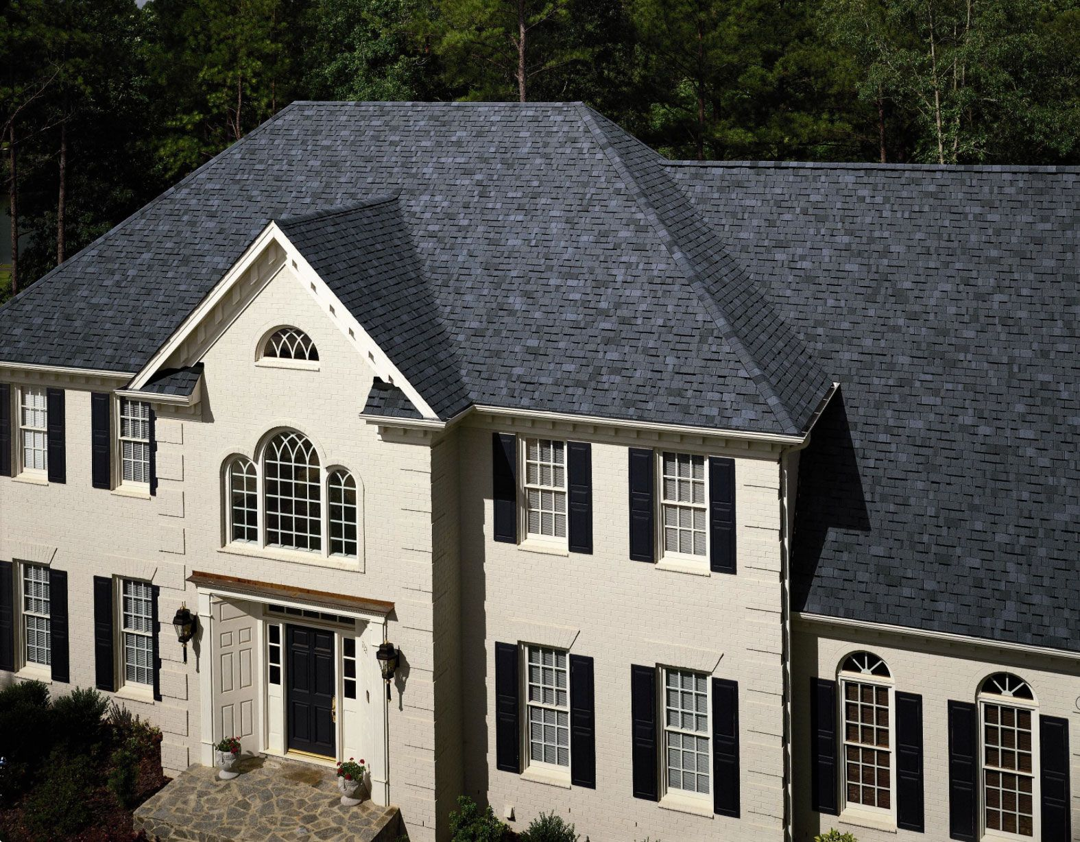 Best Certainteed Independece Charcoal Black House Roof 400 x 300